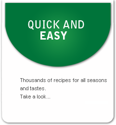 Thousands of recipes for all seasons and all tastes. Take a look….
